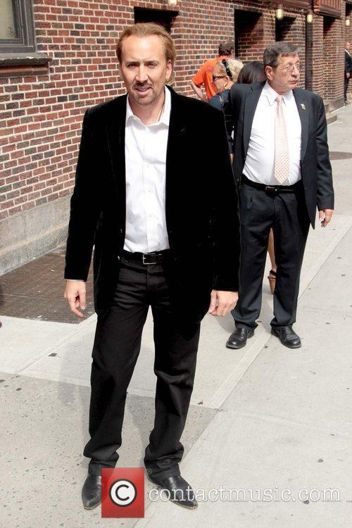 Nicolas Cage and David Letterman 7