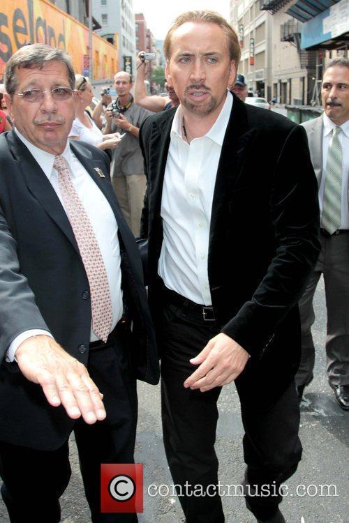 Nicolas Cage and David Letterman 12