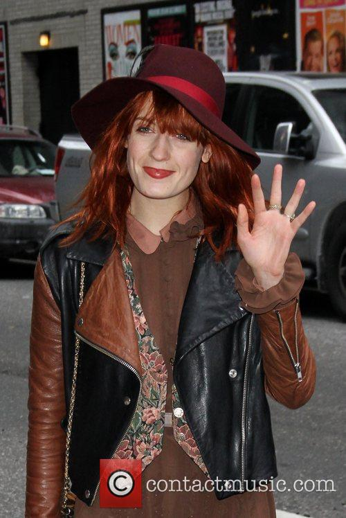 Florence Welch, Ed Sullivan and Florence And The Machine 6