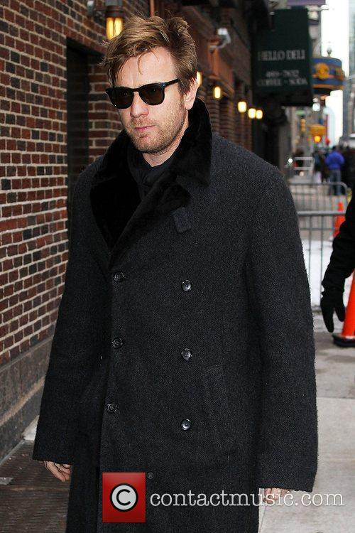 Ewan Mcgregor and David Letterman 2