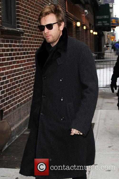 Ewan Mcgregor and David Letterman 6