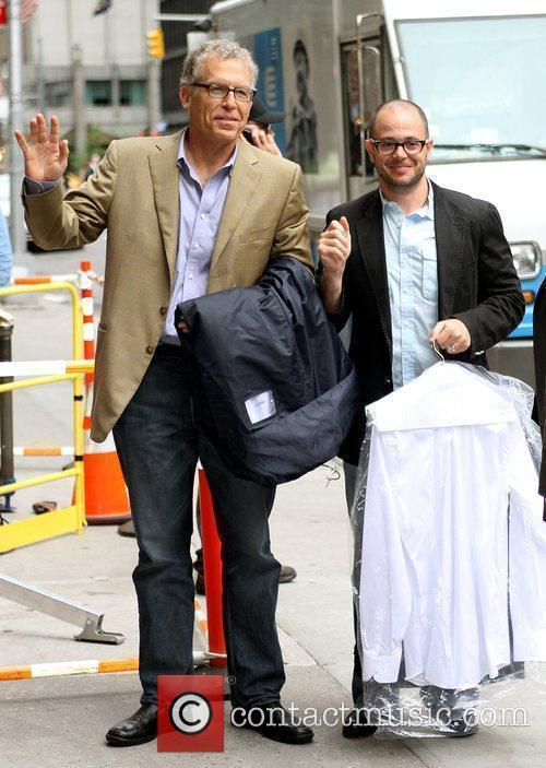 Damon Lindelof and David Letterman 2