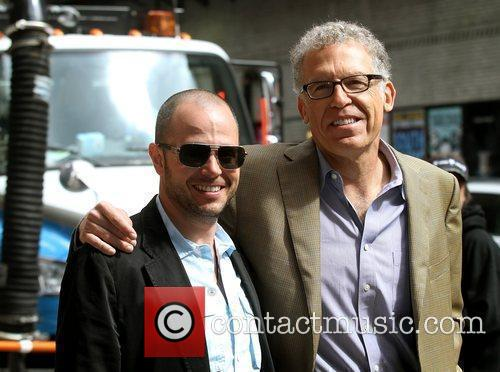 Damon Lindelof and David Letterman 1