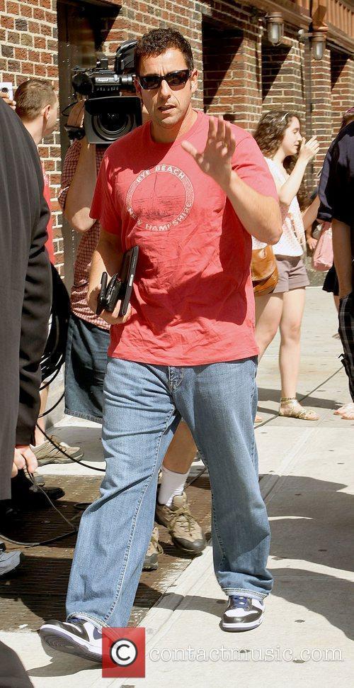 Adam Sandler and David Letterman 2
