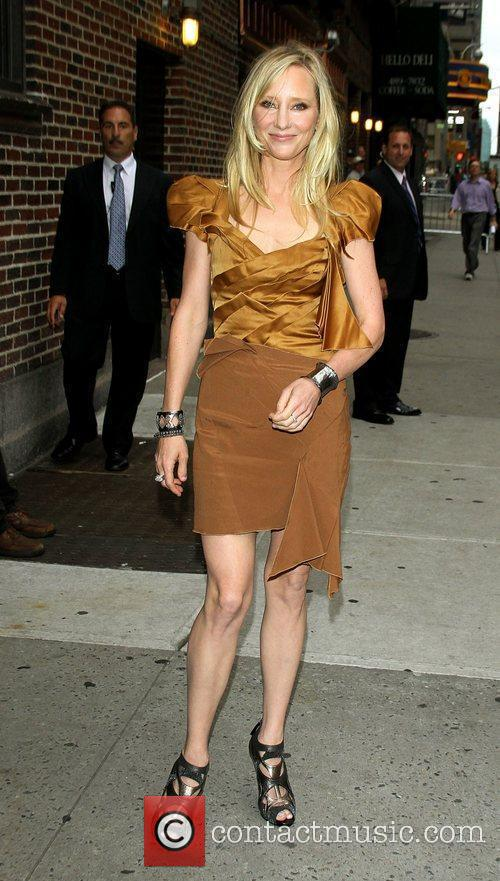 Anne Heche and David Letterman 10