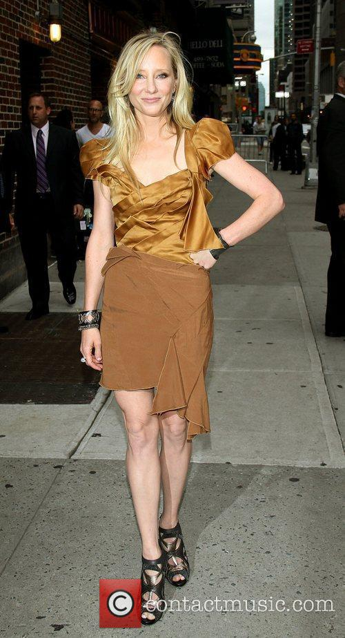 Anne Heche and David Letterman 13