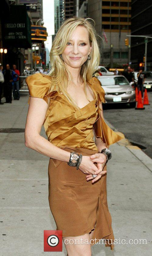 Anne Heche and David Letterman 11