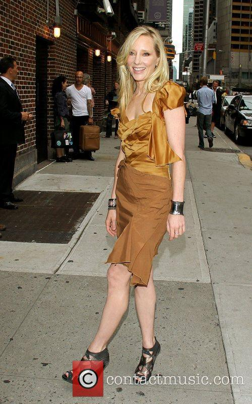 Anne Heche and David Letterman 18