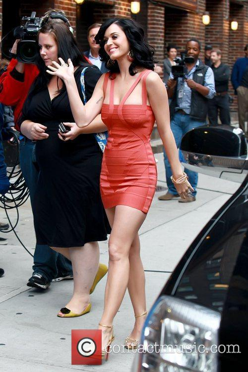 Katy Perry and David Letterman 9