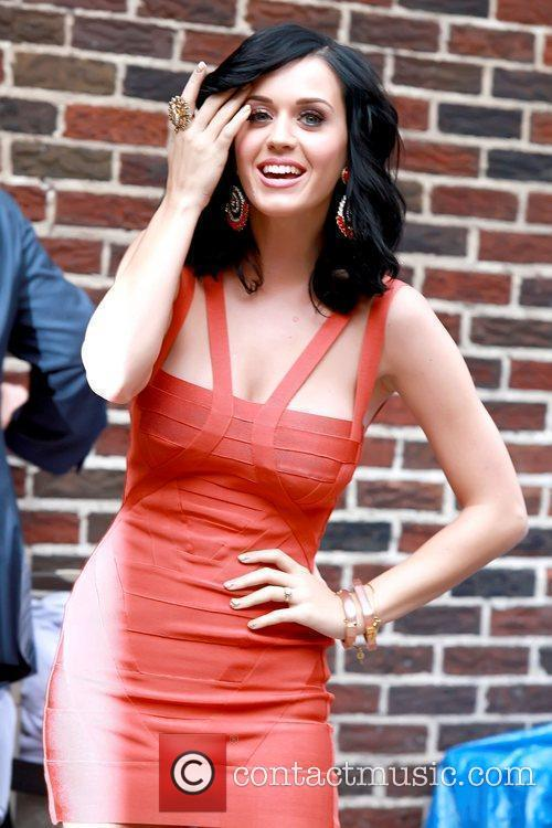 Katy Perry and David Letterman 3