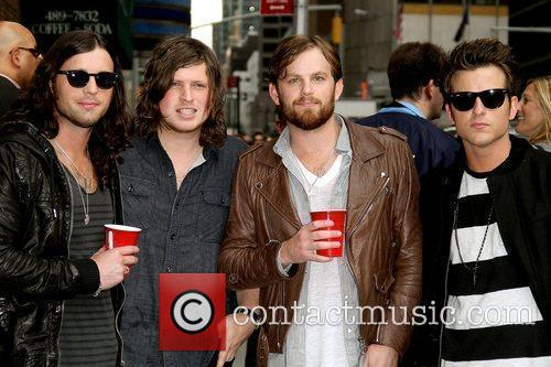 Kings of Leon Late Show