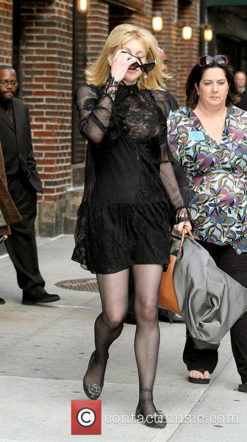 Courtney Love and David Letterman 20