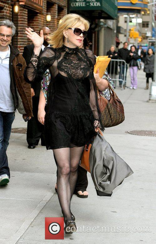 Courtney Love and David Letterman 21