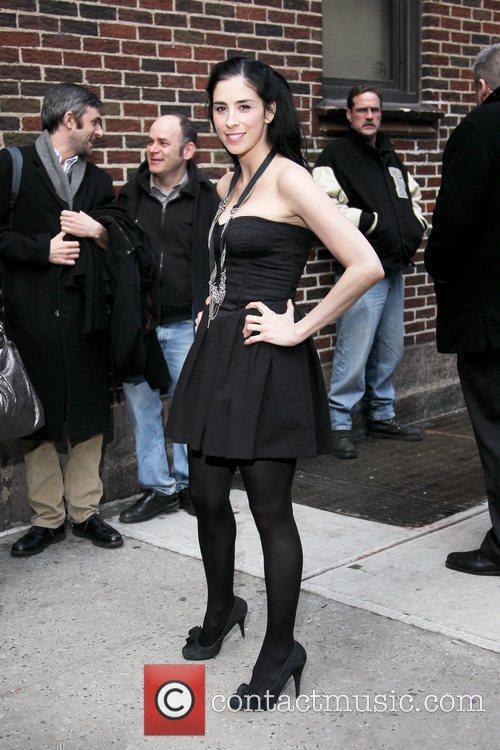 Paris Hilton and David Letterman 17