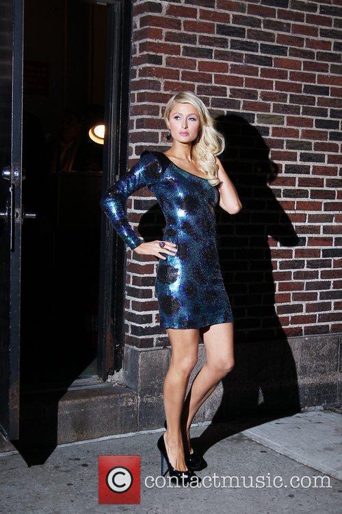 Paris Hilton and David Letterman 22