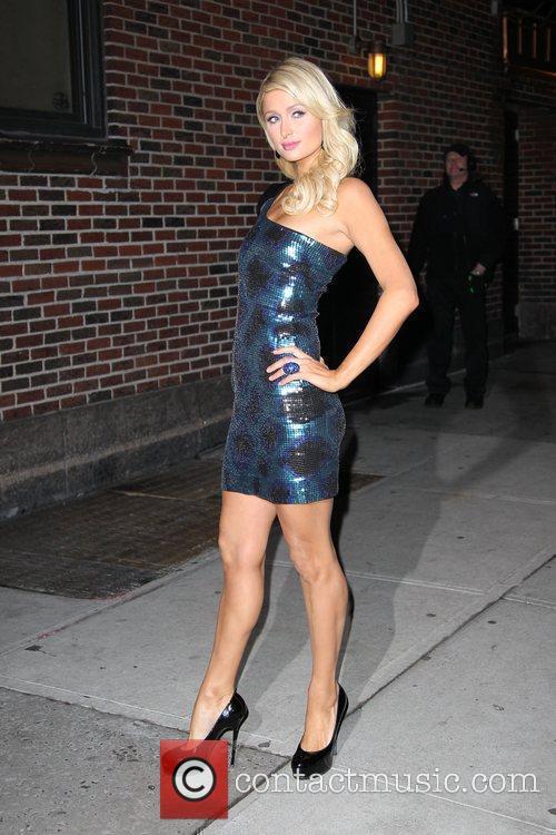 Paris Hilton and David Letterman 19