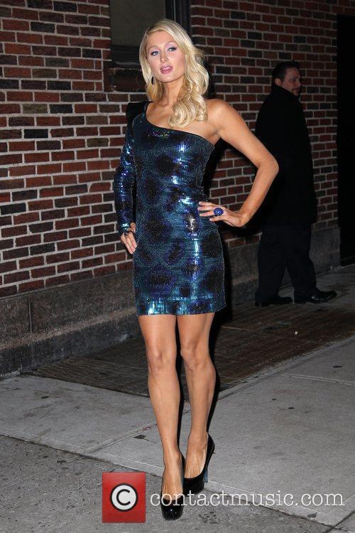 Paris Hilton and David Letterman 20