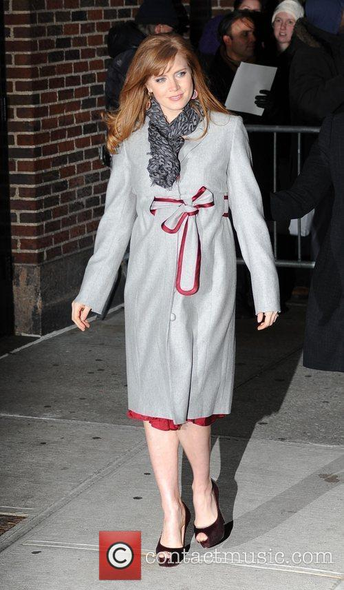Amy Adams and David Letterman 11