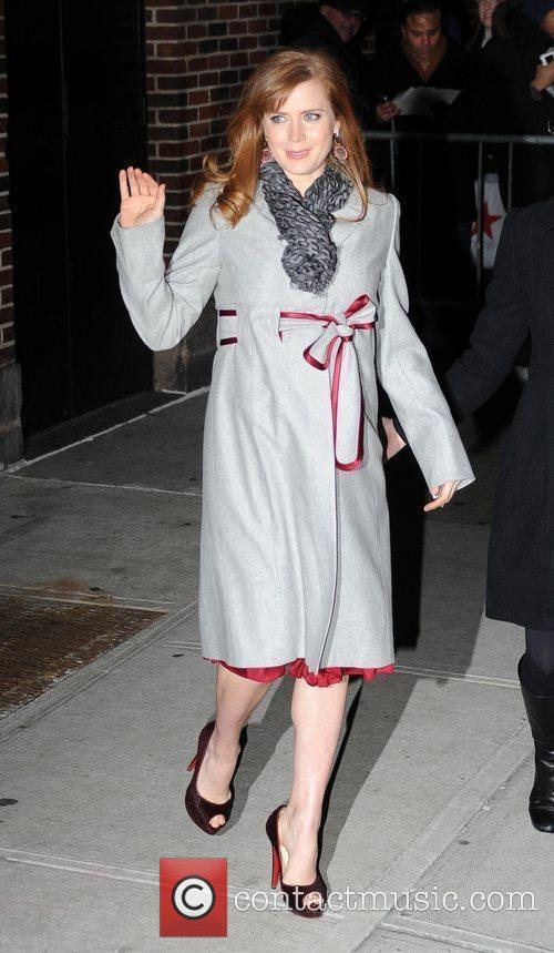 Amy Adams, David Letterman