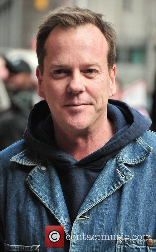 Keifer Sutherland and David Letterman 7