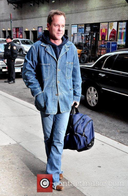 Keifer Sutherland and David Letterman 10