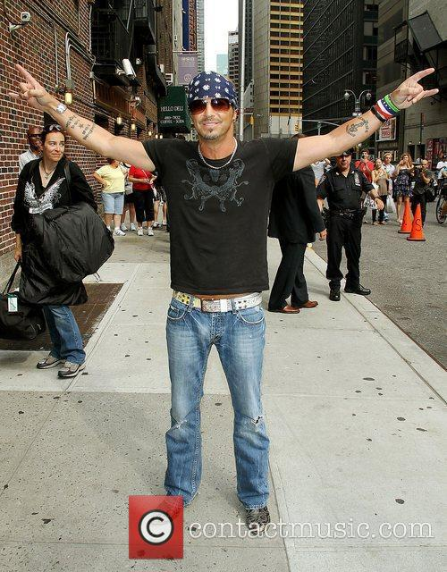 Bret Michaels and David Letterman 2