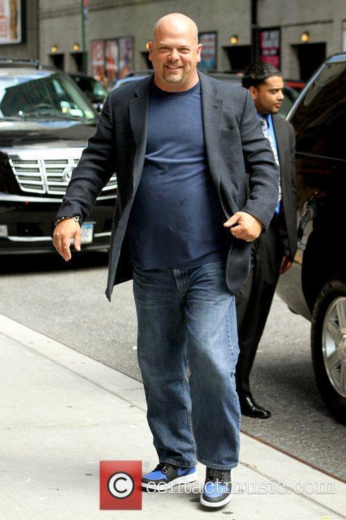 Rick Harrison and David Letterman 4
