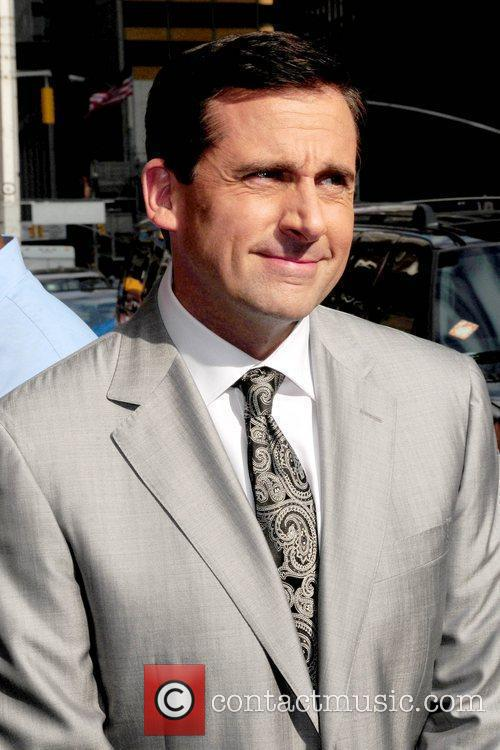 Steve Carell and David Letterman 7