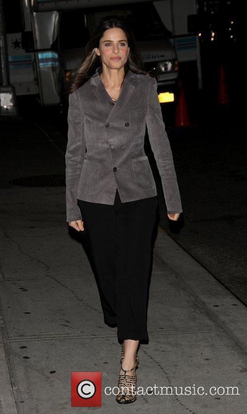 Amanda Peet david letterman 2010