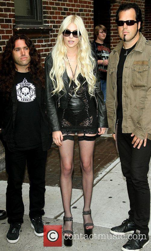 Taylor Momsen, David Letterman and The Pretty Reckless 10