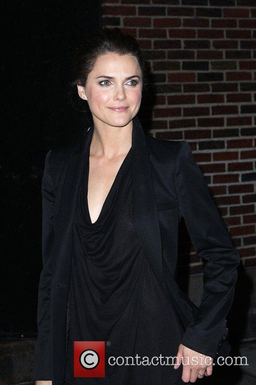 Keri Russell and David Letterman 10