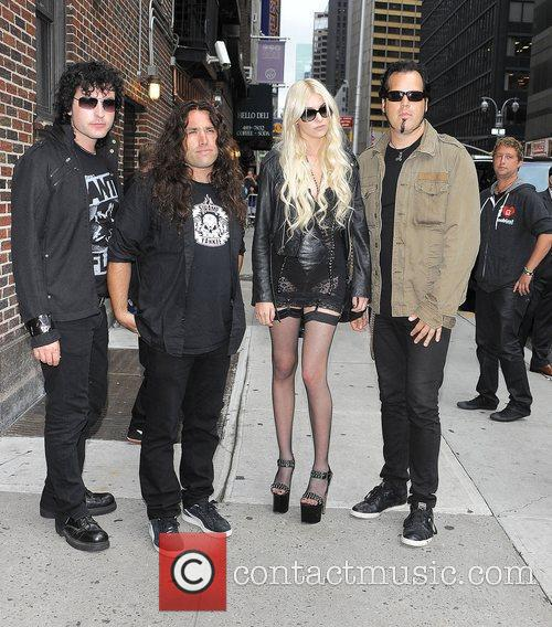Taylor Momsen, David Letterman and The Pretty Reckless 3