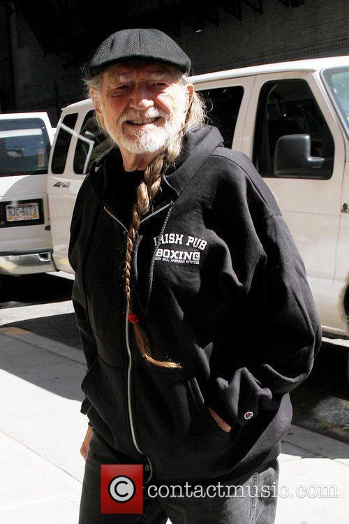 Willie Nelson and David Letterman 2