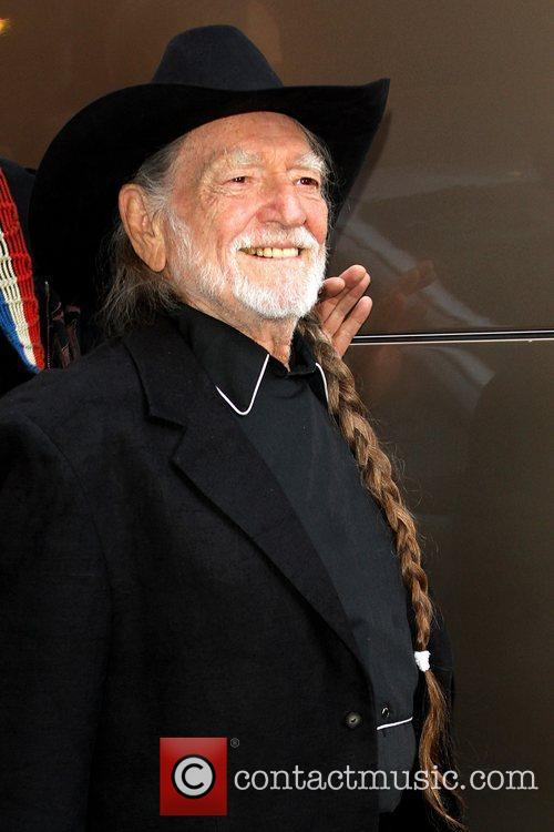 Willie Nelson and David Letterman 12