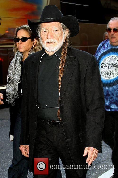 Willie Nelson and David Letterman 5