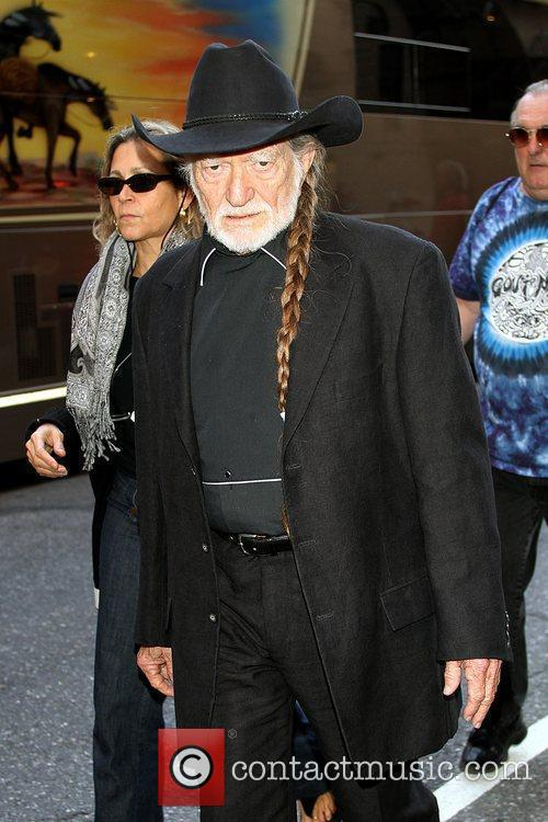 Willie Nelson, David Letterman
