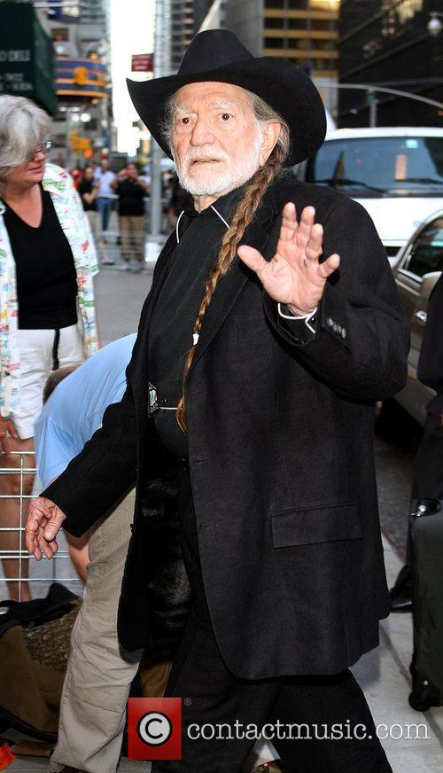 Willie Nelson and David Letterman 4