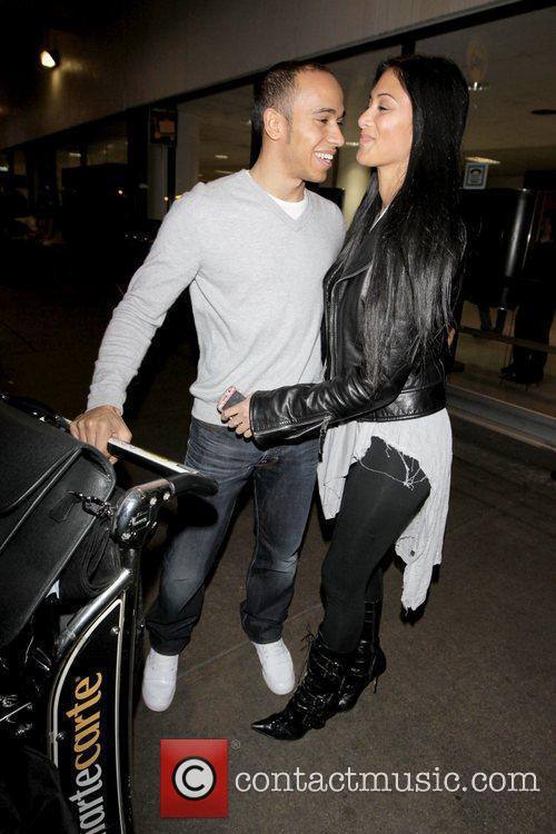 Lewis Hamilton and Nicole Scherzinger 8