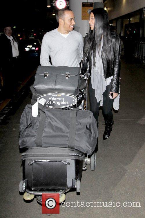 Lewis Hamilton and Nicole Scherzinger 7