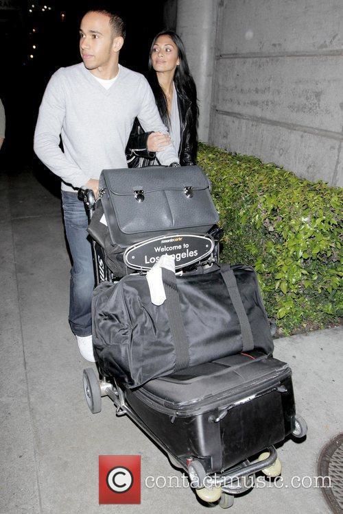 Lewis Hamilton and Nicole Scherzinger 4