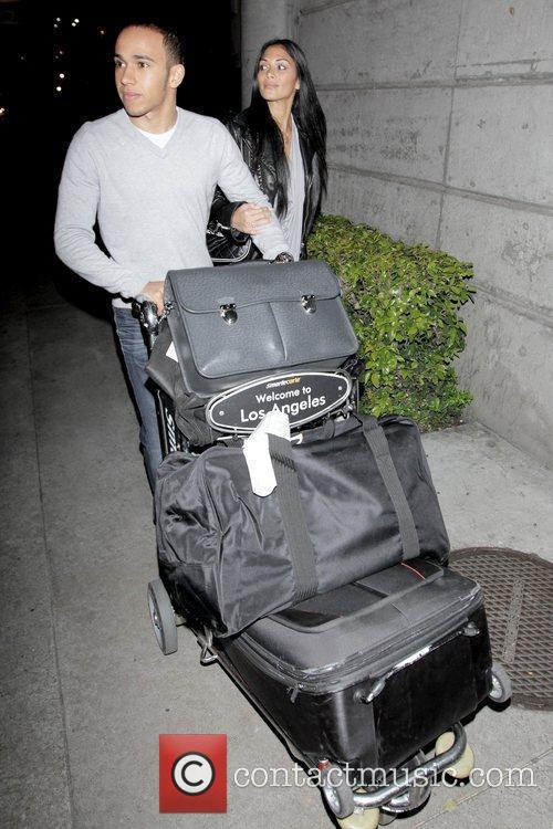 Lewis Hamilton and Nicole Scherzinger 10