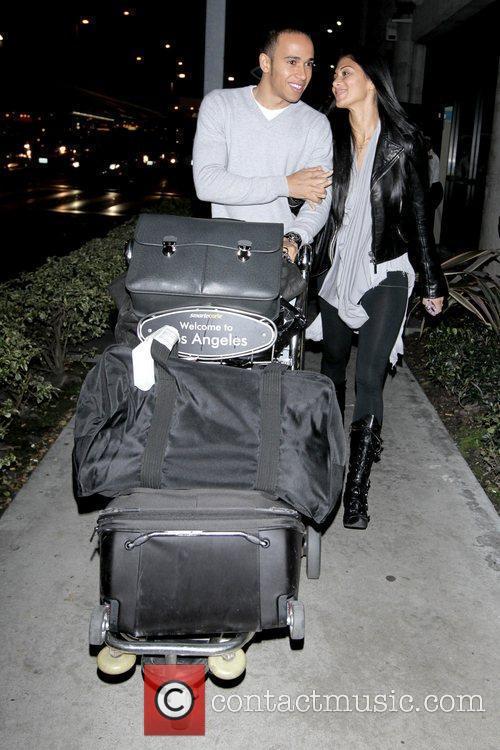 Lewis Hamilton and Nicole Scherzinger 12