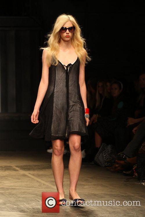 Model London Fashion Week Spring/Summer 2011 - Twenty8Twelve...