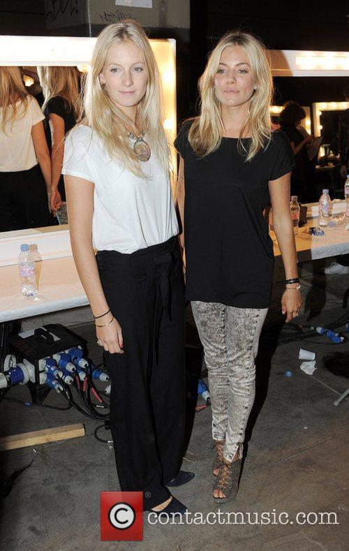 Sienna Miller London Fashion Week