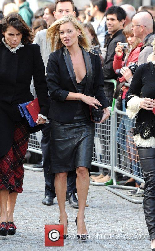 Kate Moss London Fashion Week - Alexander McQueen...