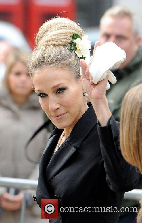 Sarah Jessica Parker, Alexander Mcqueen and Cathedral 3