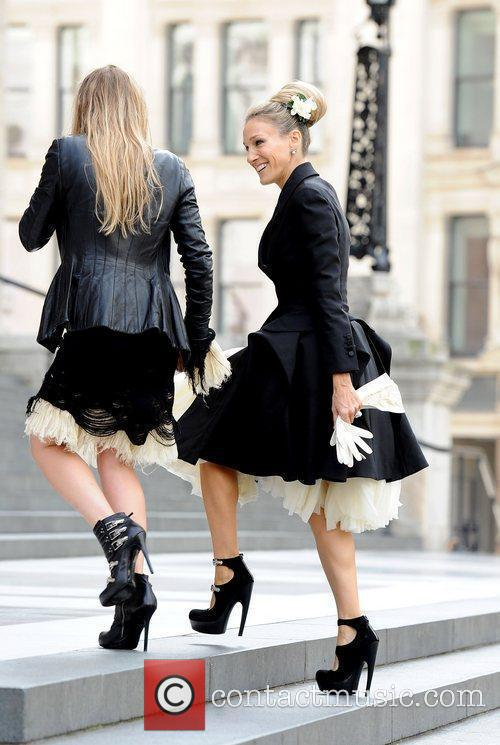 Sarah Jessica Parker, Alexander Mcqueen and Cathedral 2