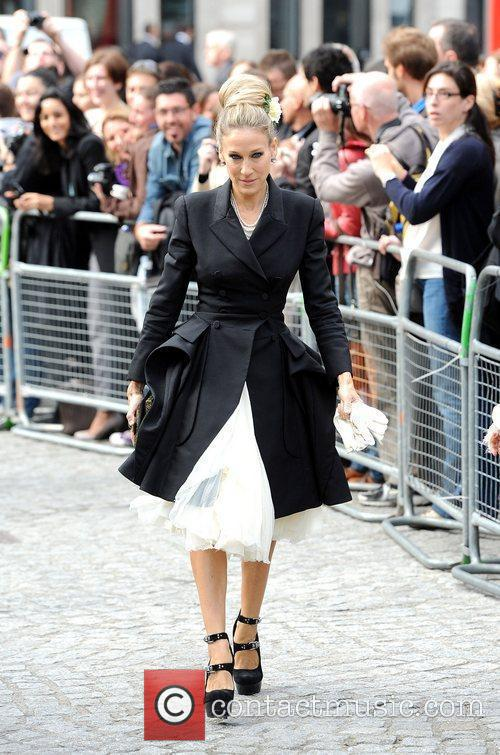 Sarah Jessica Parker, Alexander Mcqueen and Cathedral 4
