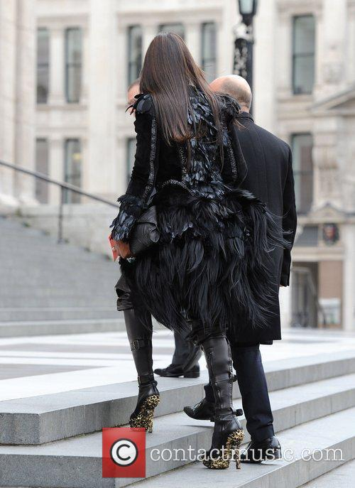 London Fashion Week - Alexander McQueen memorial service...