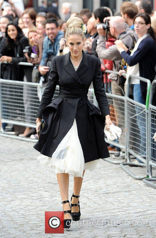 Sarah Jessica Parker, Alexander Mcqueen and Cathedral 7